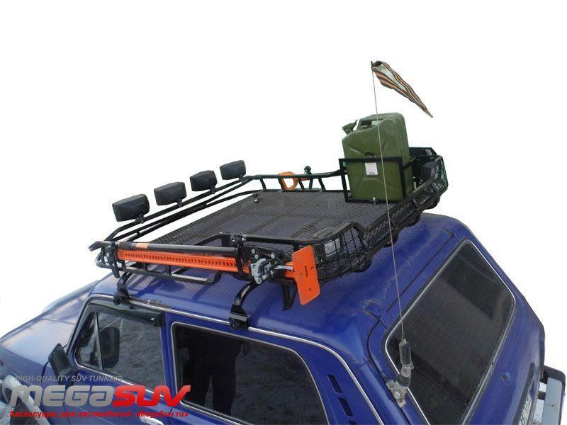 Багажник на крышу автомобиля нива 2121 своими руками
